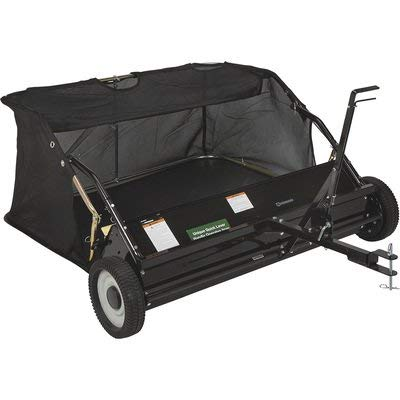 Strongway 42in.W Lawn Sweeper - 13 Cu. Ft. Capacity