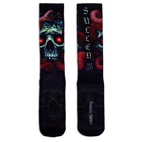 Sullen Clothing Socken - Red Scales