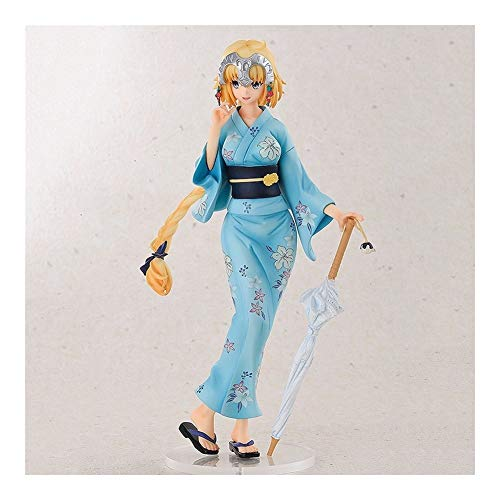 Anime Model Joan of Arc Dalk Bathrobe Hand-Made PVC Crafts, is a Good Creative Birthday Gift for Friends and Anime Fans Z-2020-7-20 image