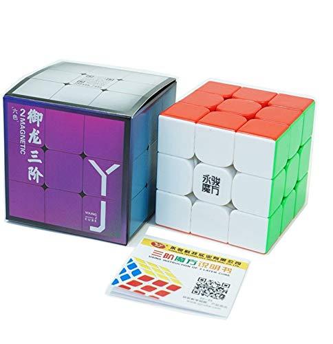 Cubo Mágico Magnético 3x3x3 Moyu Yulong V2 Stickersless