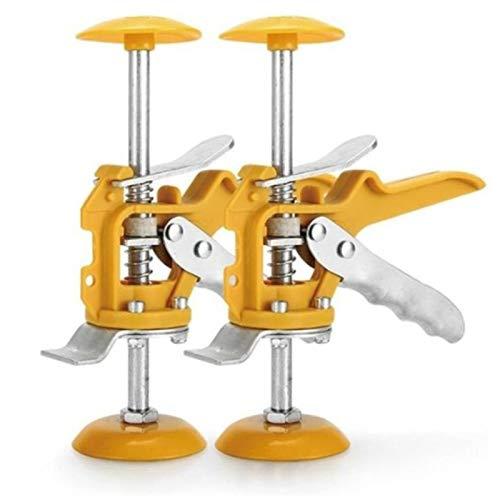 Kuinayouyi Fliesen-Nivelliersystem, Nivellierer, Wandfliesen, Pflastersteine, Werkzeug, Clip, Bodenmontage, Fliesenausrichtungswerkzeuge, 2 Stück