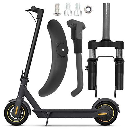 DAUERHAFT Horquilla Delantera con suspensión para Scooter eléctrico, Juego de Guardabarros con Soporte de aleación de Aluminio XIAOMI M365/PRO E-Scooter, Accesorio Duradero y cómodo