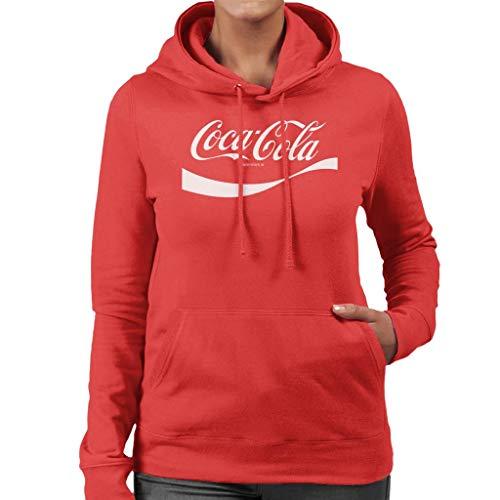 Coca-Cola 1941 Swoosh Logo Women's Hooded Sweatshirt