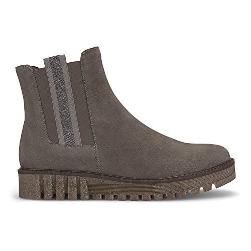Gabor Damen Chelsea Boots 31.831, Frauen Stiefelette,Stiefel,Halbstiefel,Bootie,Schlupfstiefel,flach,Wallaby,41 EU / 7.5 UK