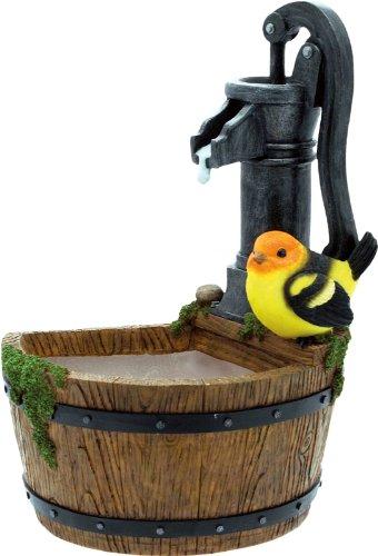 'Fuente a pared pájaro cm.27H. decorativa