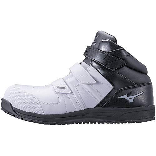 [ミズノ] 安全靴 オールマイティ SF21M 軽量 ミッドカット ベルト クッション JSAA・普通作業用(A種) メンズ ホワイト×グレー×ブラック 29 cm 3E
