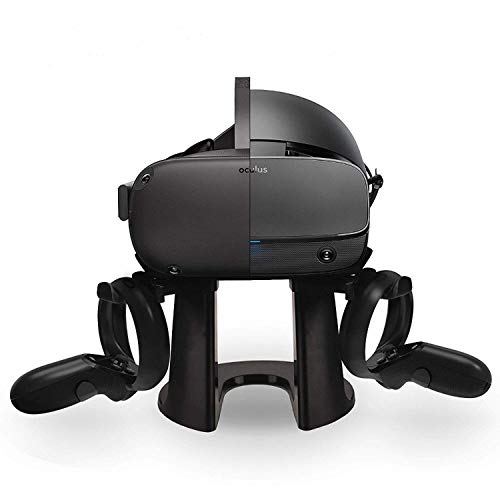 TNE VR Stand Headset Display Holder & Touch Controller Mount Station for Oculus Quest/Oculus Rift/Rift S All-in-One 64GB 128GB Virtual Reality Gaming System