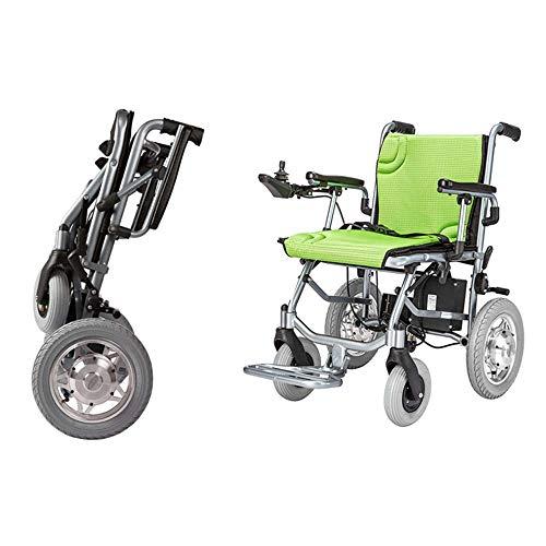 De lichtste en meest compacte power-rolstoel ter wereld – ultra-draagbare vouwstoel – gewichten slechts 39 lbs (inclusief 12 A lithiumbatterij). De Brushess dubbele motor – 18 inch zitbreedte.