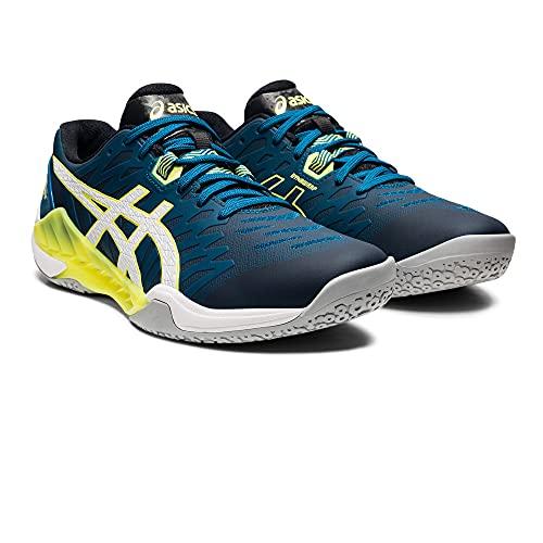 ASICS Herren 1071A044-402_45 Handball Shoes, Blue, EU