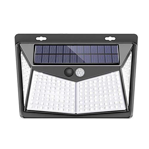 Lixada センサーライト ソーラー 208LED 高輝度 3つ照明モード 270°照明範囲 PIRモーションセンサーライト IP65防水 省エネ 配線不要 防犯ライト屋外 玄関 駐車場