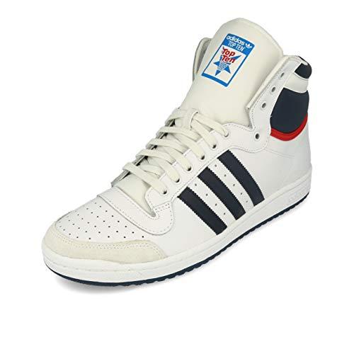 Adidas Top Ten Hi Sneaker da uomo, bianco, 42 2/3