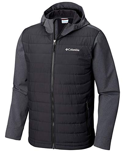 Columbia Men's Oyanta Trail Hybrid Hooded Puffer Jacket (XL)