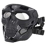 Garneck - Maschera tattica per sport all'aria aperta, decorazione per fucile ad aria com...