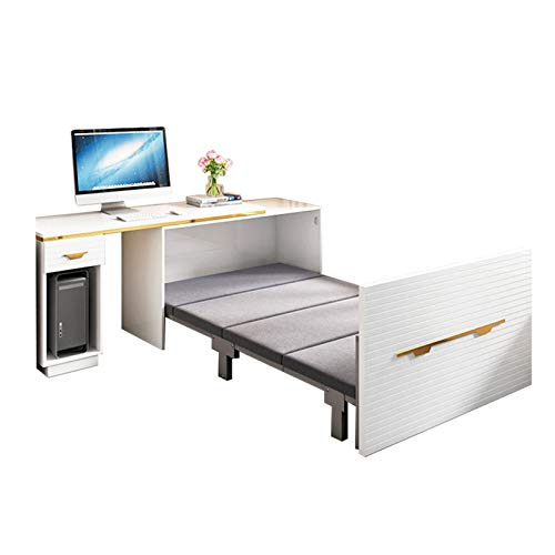 TWW Multifunctional Folding Invisible Wall Bed Storage Hidden Bed Flip Bed Folding Invisible Wardrobe Bed Folding Bed
