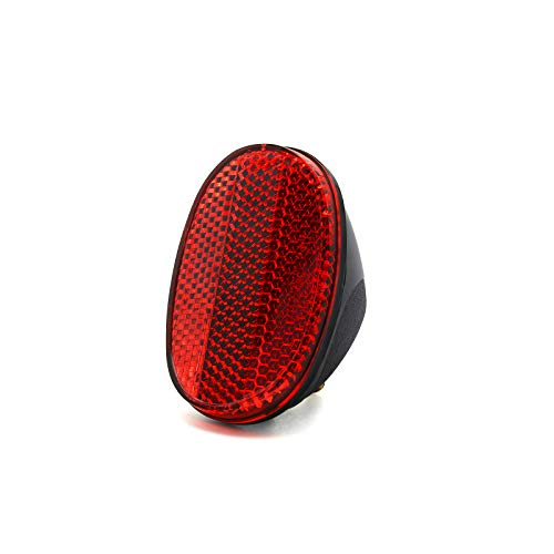 MFC PRO Red Oval Rear Bicycle Mudguard Fender Cycling Safety Warning Reflector Red