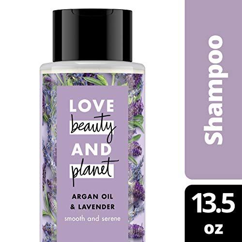 Unilever Love Beauty & Planet Argan Oil & Lavender Shampoo 13.5 Fl Oz, 13.5 Oz