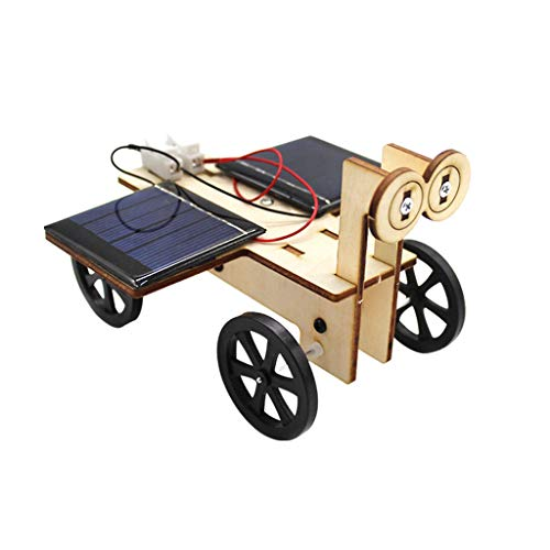 Hörsein Coche Solar (Tablero Doble) la producción de Materiales de experimentación científica DIY de los niños de Coches eléctricos manuales