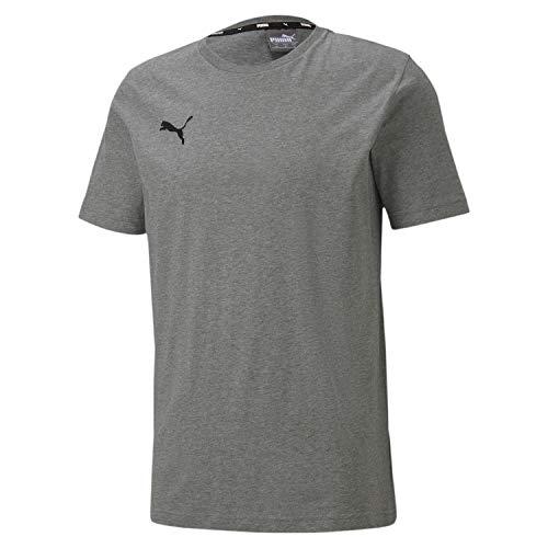 PUMA teamGOAL 23 Casuals Tee T-Shirt Homme, Medium Gray Heather, XL