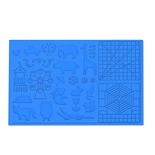 Easyeeasy 3D-Stift-Matte 3D-Druckstift Große Silikon-Design-Matte Pad-Stifte Zeichenwerkzeuge für Kinder und 3D-Stift-Künstler