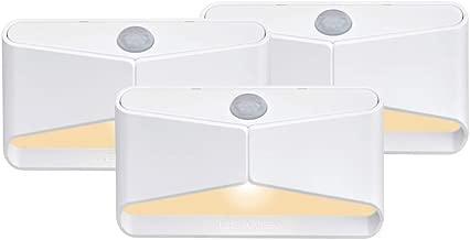 Mr Beams MB710A-WHT-03-00 琥珀色 LED 夜灯,白色,3 件装