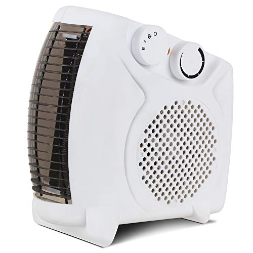 Lifelong Flare 2000 Watt Fan Room Heater, White (ISI Certified, Home Service Available)