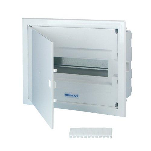REV Ritter 0515501555 Kleinverteiler Unterputz mit Tür 1-reihig, weiß