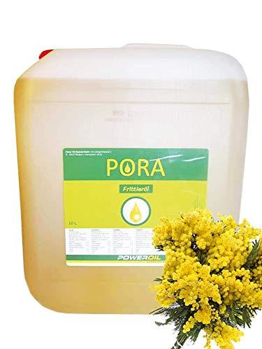 Pora Frittieröl, 10l Kanister , Braten und Frittieren, erhitzbar bis 220