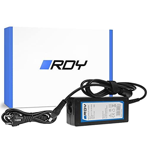 RDY 60W 19V 3.16A Alimentatore Caricatore per SAMSUNG R519 R719 RV510 NP270E5E NP275E5E NP300E5A NP300E5E NP300E5C NP300E7A PC Portatile Notebook Adattatore Caricabatterie Connettore: 5.0 x 3.0mm