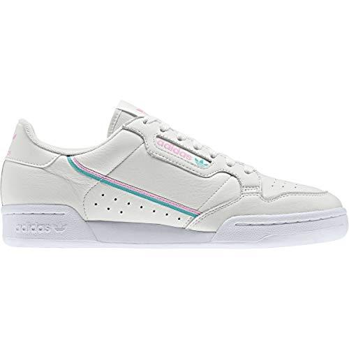 adidas Originals Zapatillas Continental 80 Hombre en Blanco, color Blanco, talla 45 1/3 EU