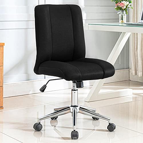 Pannow Silla de oficina Silla de escritorio Silla de malla de respaldo alto ejecutivo, asiento de malla para oficina en casa (negro)
