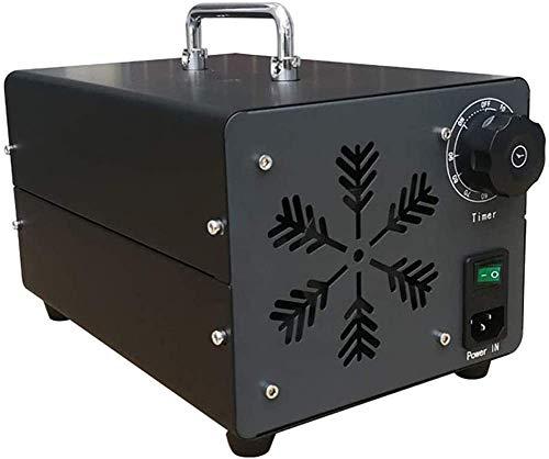 Generador De Ozono Comercial, 15000 MG/H Industrial Ozon Purificador De Aire, Ozonisator con Temporizador para Habitaciones, Humo, Coches Y Animales Domésticos