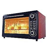 KISAD Horno Eléctrico Multifunción de Sobremesa 48L Mini Ajuste de la Temperatura del Horno 100-250 □ Y 60 Minutos Temporizador Positivo DE Cinco Cinco Cocina HORNIO
