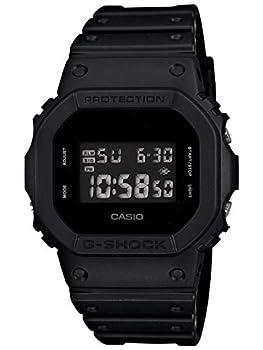 Casio Men s DW5600BB-1 Black Resin Quartz Watch with Digital Dial