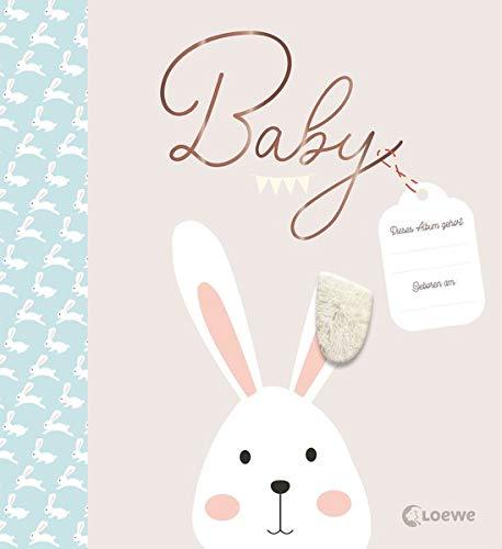 Baby: Das besondere Babyalbum - Eintragbuch und Erinnerungsalbum zur Geburt oder Taufe