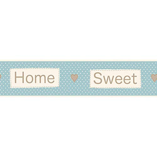 TOP SHOP zelfklevend fotobehang Home Sweet 5 m x 14,5 cm breed