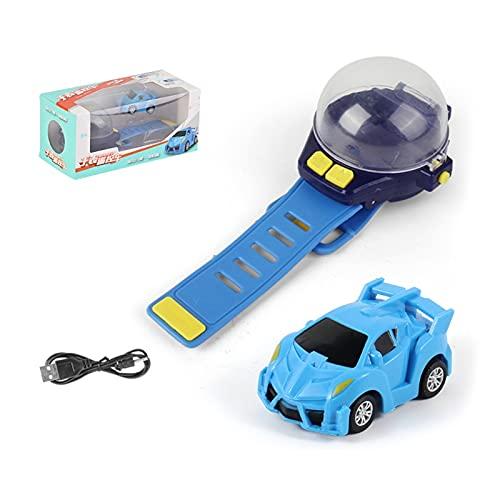 1 unidad USB fuente de alimentación desmontable reloj coche para niños carga USB mini coche juguete flexible usable reloj control remoto coche juguete vehículos para niñas