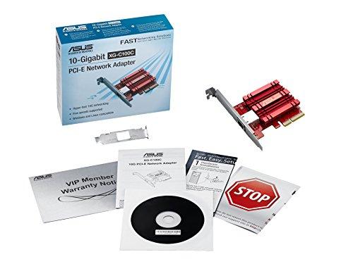 Asus XG-C100C 10G Netzwerkkarte (RJ45-Port, IEEE 802.3an 10G Base-T)