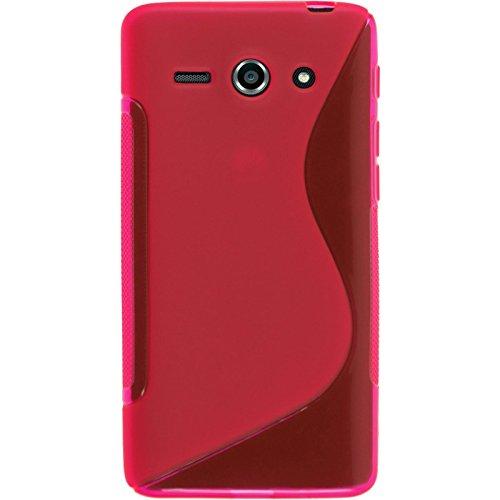 PhoneNatic 2 x Glas-Folie klar kompatibel mit Huawei Ascend Y530 - Panzerglas für Ascend Y530 - 3