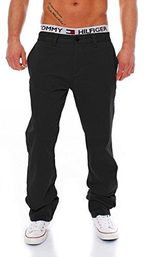 Big Seven Evan Chino Pant Regular Fit Herren Hose, Hosengröße:W36/L32, Farbe:Black