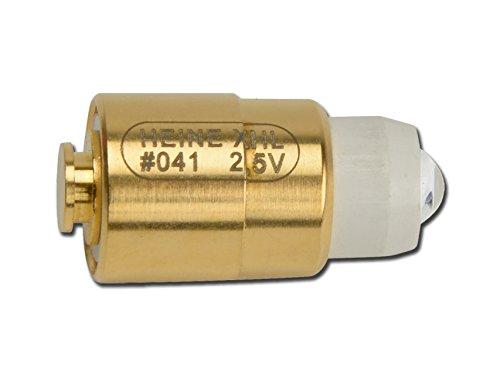 Ersatzlampe Heine X-001.88.041 2,5V für mini Fibralux, mini 2000 Kombileuchte, mini 2000 Cliplampe