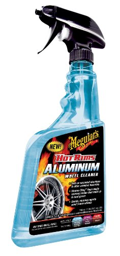 Meguiar\'s G14324DE Hot Rims Aluminium Wheel Cleaner Felgenreiniger, 710 ml
