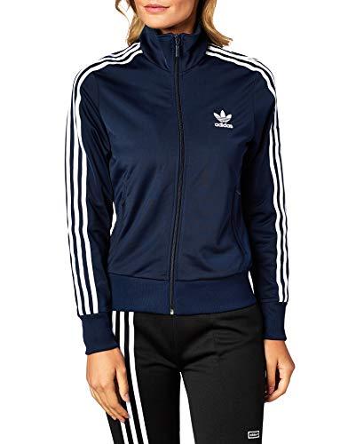 adidas Originals Sweatjacke Damen Firebird TT ED7517 Dunkelblau, Size:36