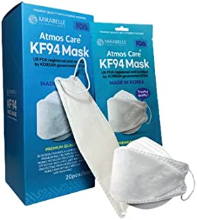 KF94 High Level Protective Face Mask Sold by Mirabelle Cosmetics Korea MADE IN KOREA (20 Pcs/Box)