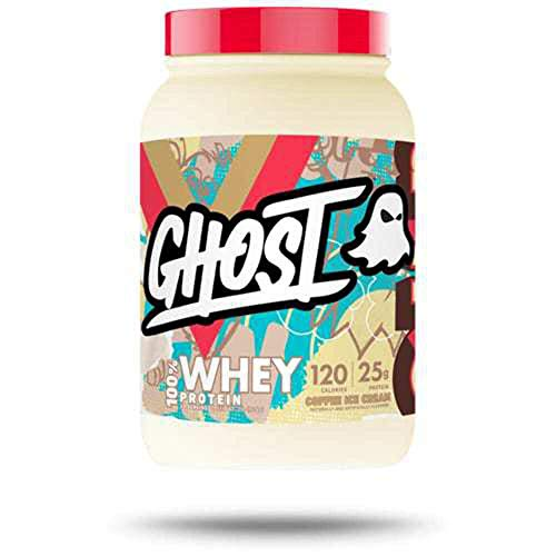 Ghost Coffee Ice Cream Whey Protein