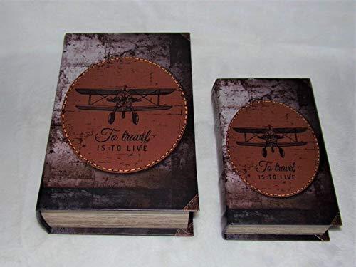 Signes Grimalt - Caja de Madera con diseño de avión