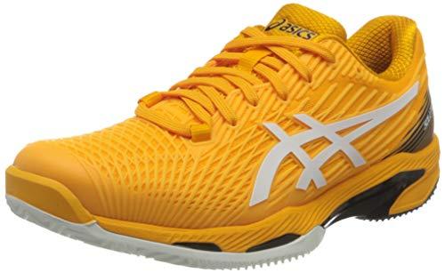 ASICS Solution Speed FF Clay, Zapatos de Tenis Hombre, Blanco ámbar, 46.5 EU