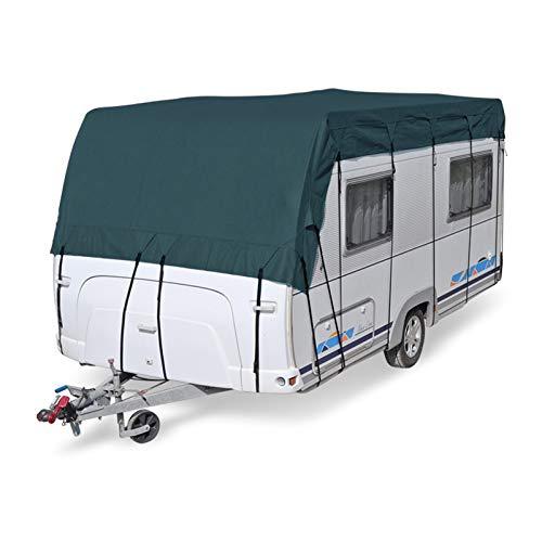 Schutzdach für Wohnwagen & Wohnmobil | von 5x3 bis 10 x3 m | vierlagig | wintertauglich (10 x 3 m)