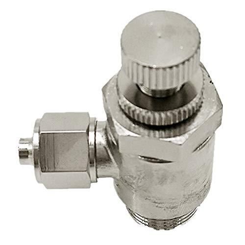 B Blesiya Pneumatik Absperrventil Stromregelventil Wasserventil Wasserregler, aus Kupfer - SL10-03