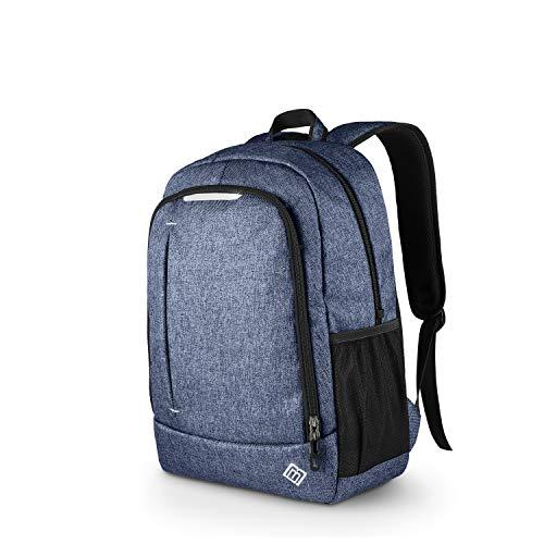 """BoostBag One Backpack - Boostboxx City-Rucksack für Laptop/Notebook bis 15,6\"""", Ipad, Tablet und Handy, perfekt für Schule, Studium, Business oder Beruf, blau"""
