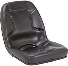 Black Talon Highback Kubota Tractor Seat - Black, Model Number 530000BK